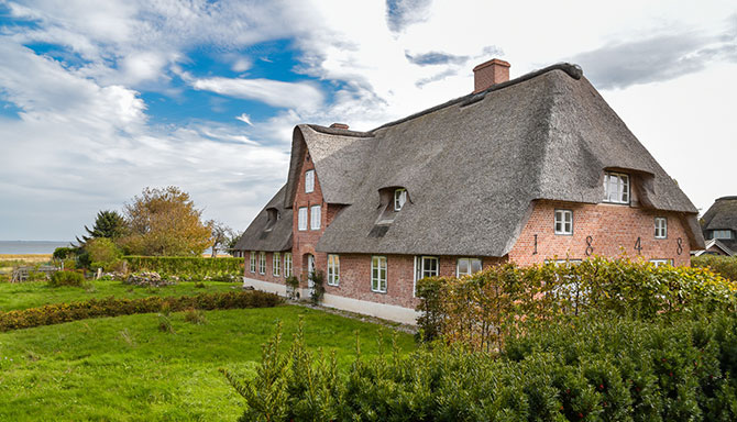 Insurance advice for thatched roofs